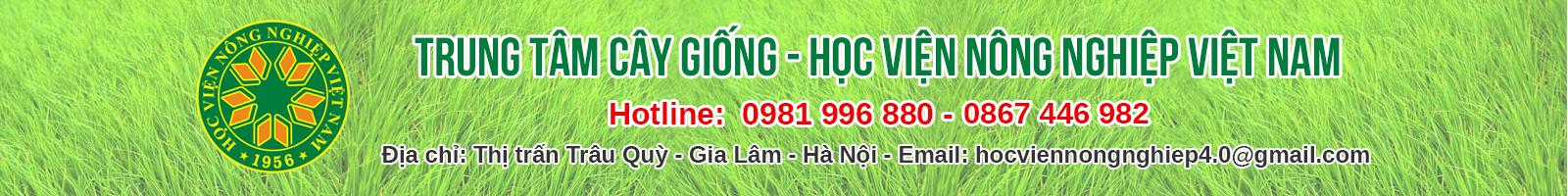 Trung tâm Giống Cây Trồng – Học viện Nông Nghiệp Việt Nam